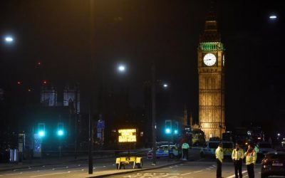 Five dead, around 40 injured in UK parliament 'terrorist' attack
