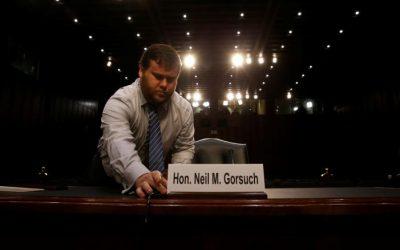 Trump's Supreme Court nominee faces senators in marathon hearing