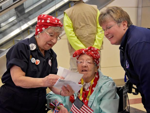 World War Two Rosies celebrated on U.S. day of recognition