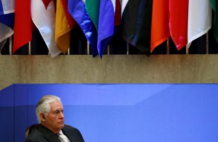 Tillerson to meet NATO on March 31, ending no-show furor