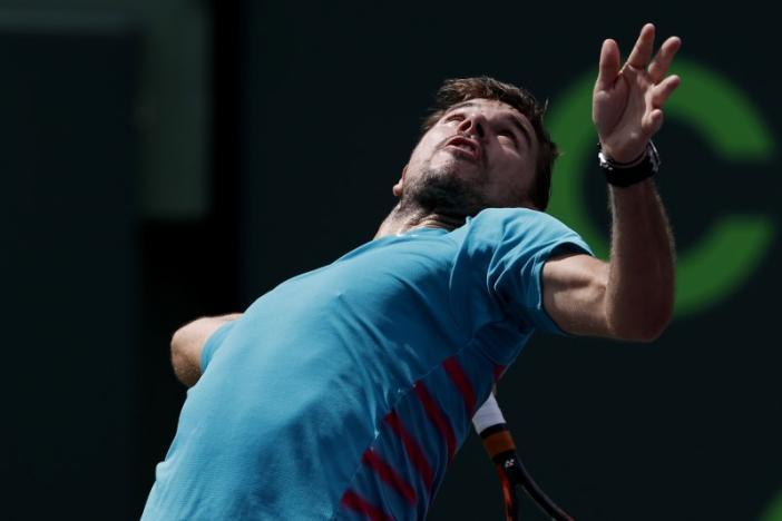 Wawrinka makes quick work of opening Miami match