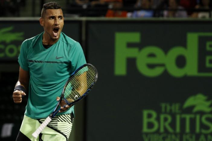 Rivals play blame game as Kyrgios wins feisty encounter