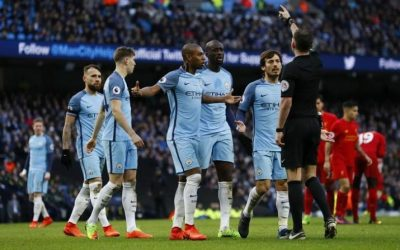 Soccer: Man City charged with misconduct in Liverpool game