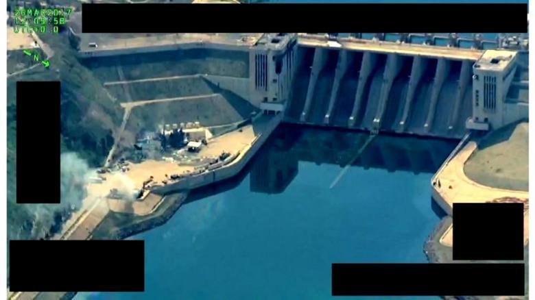 U.S.-backed Syrian militias say pause operations near Tabqa dam
