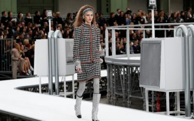 Chanel collection takes off at Paris Fashion week