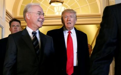 Trump warns Republican lawmakers to get behind healthcare bill