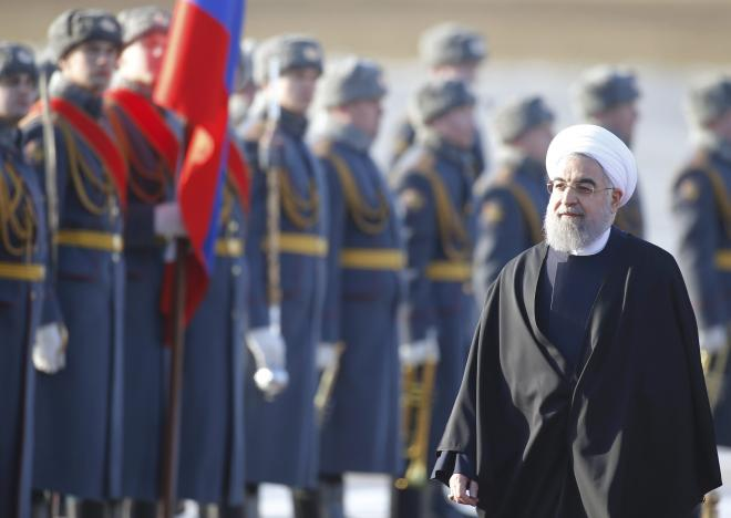 Iran's Rouhani seeks deals with new friend Russia
