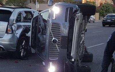 Uber Self-Driving Vehicle Involved in Arizona Crash
