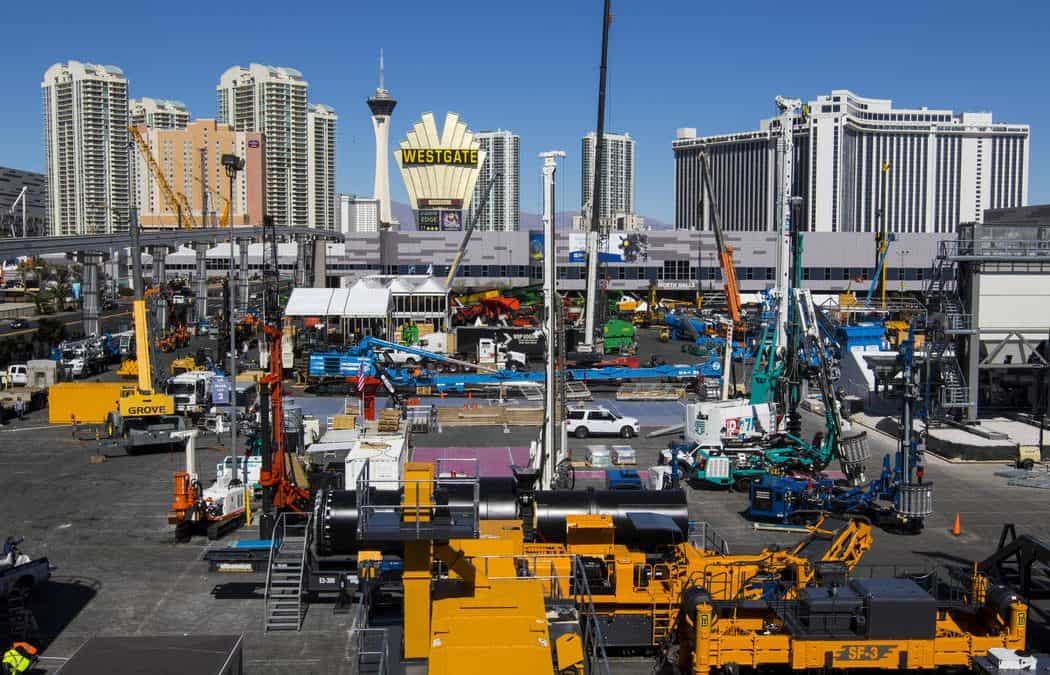 Tech innovations focus of construction industry's biggest gathering in Las Vegas
