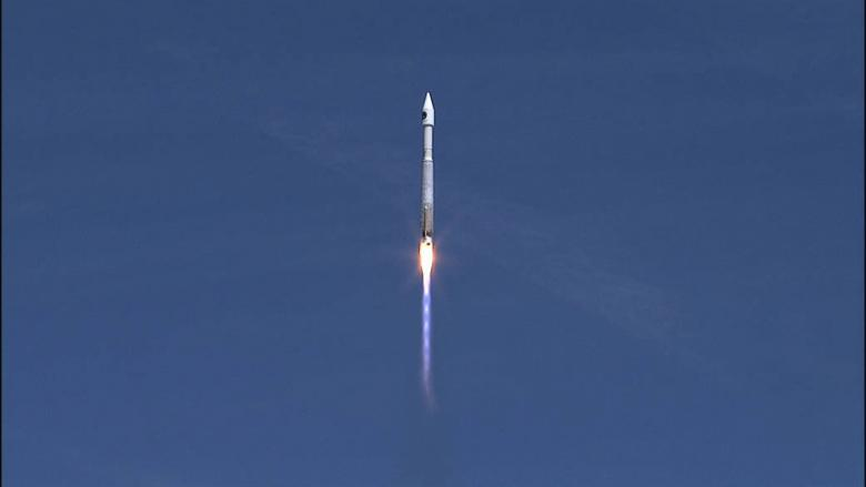 U.S. cargo ship blasts off for space station with supplies, experiments