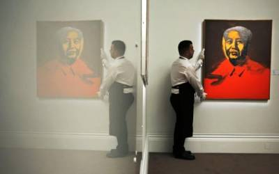 Warhol 'Mao' painting sold for $12.6 million in Hong Kong