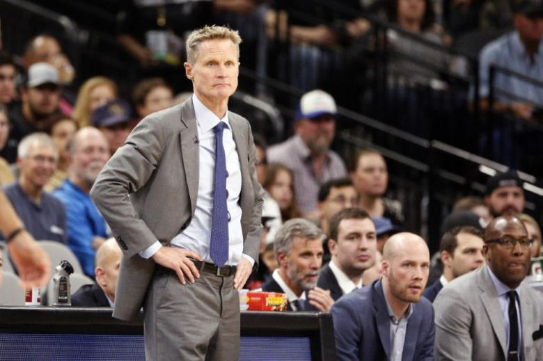 Warriors coach Kerr ill, may miss remainder of playoffs