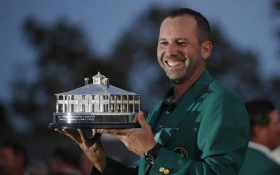 Garcia Masters Augusta to end major drought