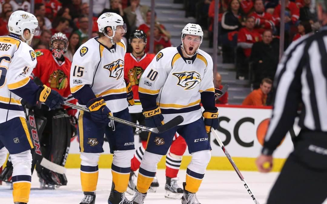 NHL Highlights: Predators drub Blackhawks, take 2-0 lead