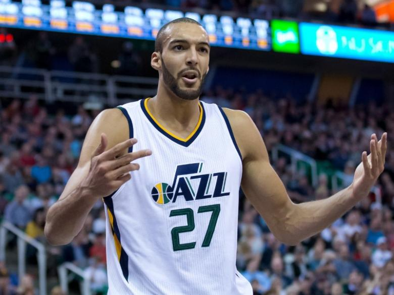 Jazz lose Gobert early in playoff opener
