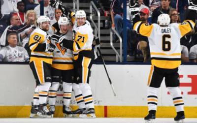 NHL Highlights: Guentzel hat trick helps Pens go up 3-0 on Jackets