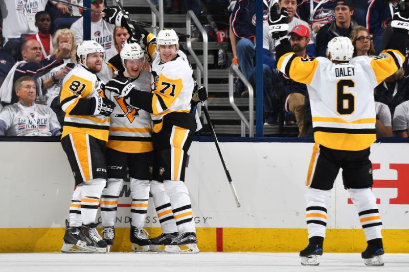 NHL Highlights: Guentzel hat trick helps Pens go up 3-0 on Jackets