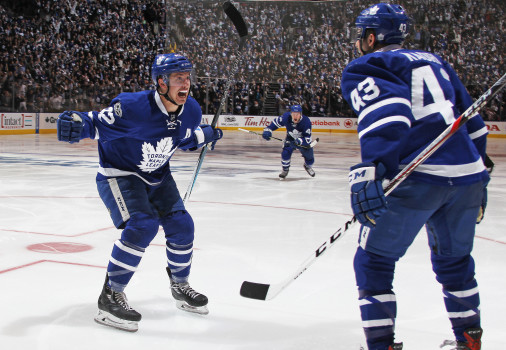 NHL Highlights: Maple Leafs seize series lead with OT win
