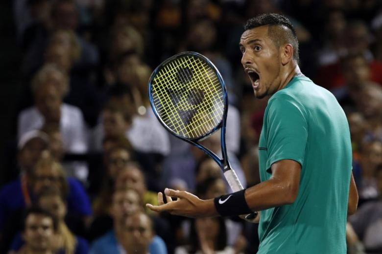 Fired up by team spirit, Kyrgios says in 'best' mental shape