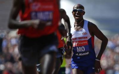Farah injection before 2014 London Marathon was not recorded – doctor