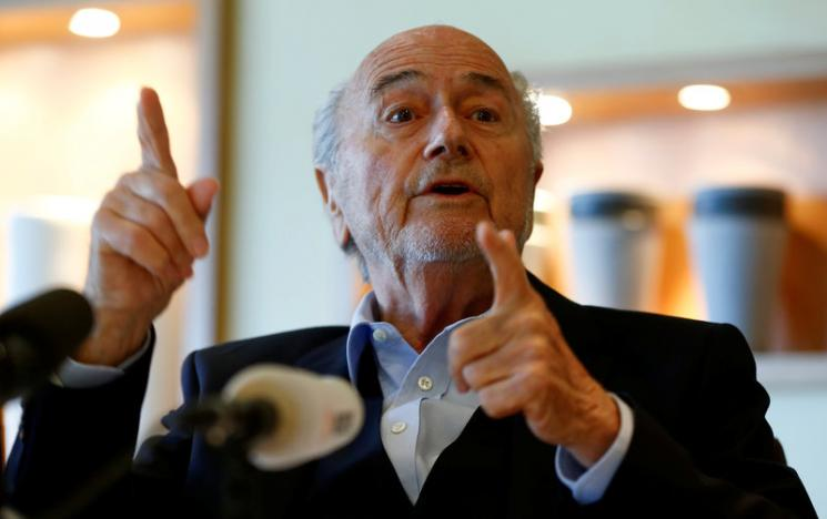 Fallen FIFA boss Blatter says met U.S. lawyers, but is not a suspect