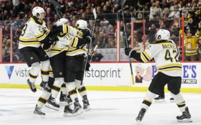 Bruins stay alive with 2 OT win over Senators