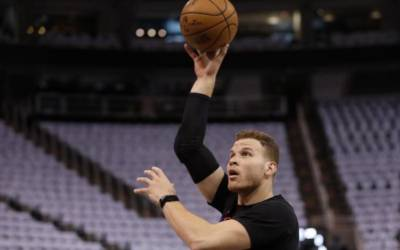 Clippers' Griffin to miss rest of playoffs with toe injury