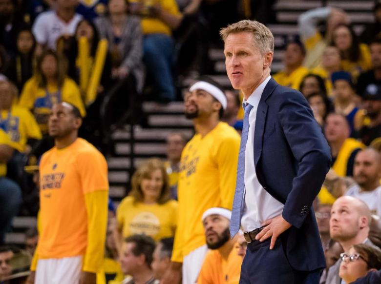 Warriors coach Kerr ill, misses Game Three