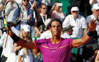 Nadal claims record-extending 10th Monte Carlo title