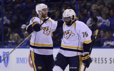 NHL Highlights: Predators remain undefeated in postseason