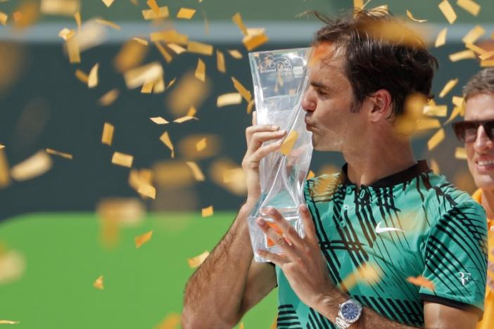 Federer beats Nadal in straight sets in Miami Open final