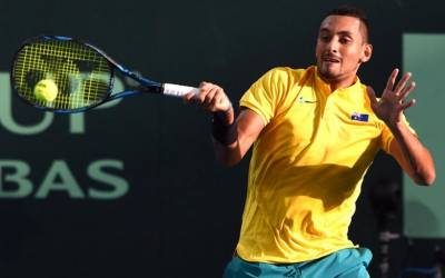 Kyrgios and Djokovic on form in Davis Cup