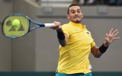 In-form Kyrgios sends Australia into Davis Cup semis