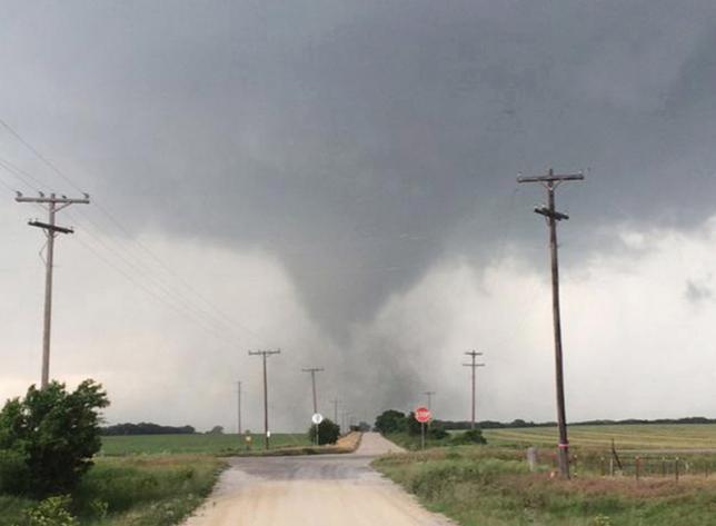 At least one killed as tornado tears though dozens of Oklahoma homes: media