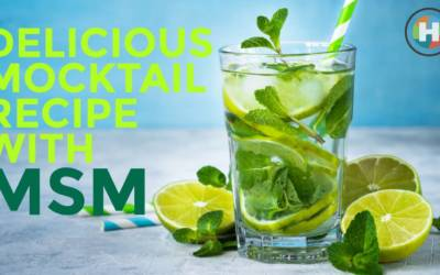 Recipe: Delicious Mocktail Recipe with MSM