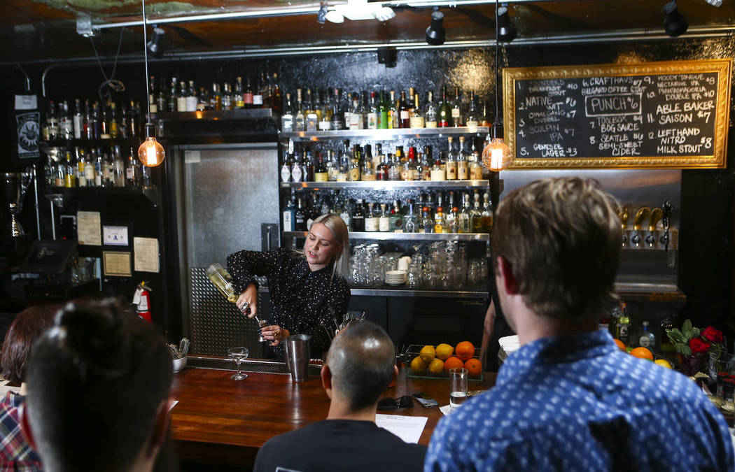 Velveteen Rabbit owners teach beginner cocktail classes