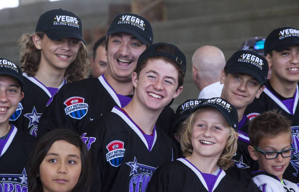 Golden Knights enter youth hockey business
