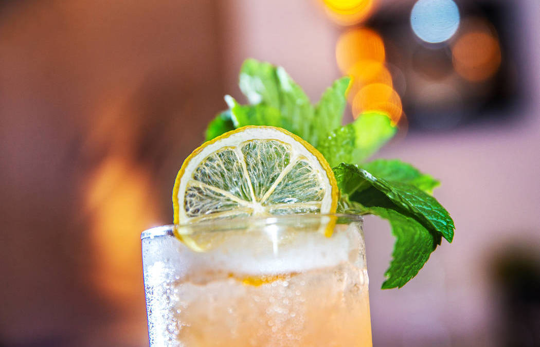 Delmonico's More Than Mojitos is a smooth play on a whiskey smash