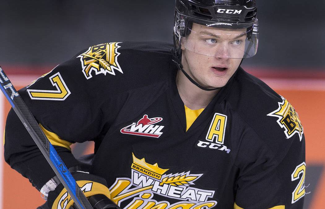 Golden Knights' 1st player Reid Duke signs PTC with Chicago Wolves