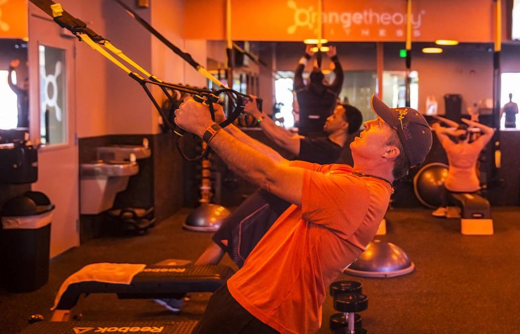 Orangetheory Fitness in Las Vegas shows real-time feedback