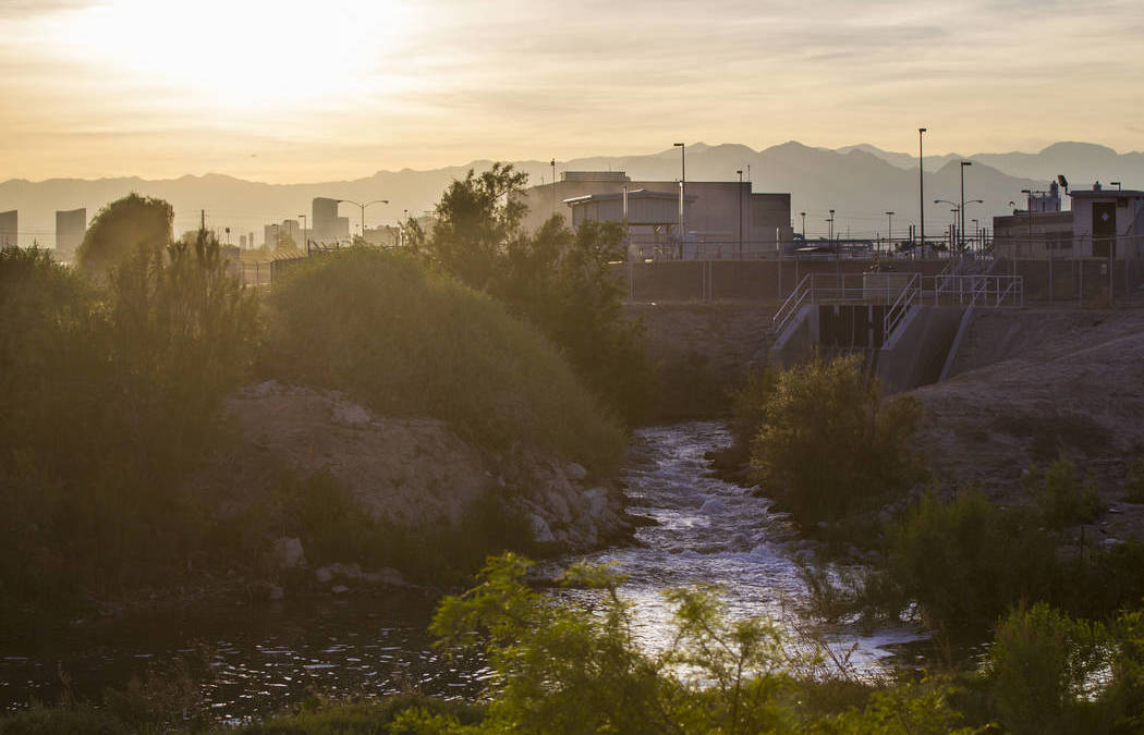 Follow a gallon of water from Lake Mead to a Las Vegas tap