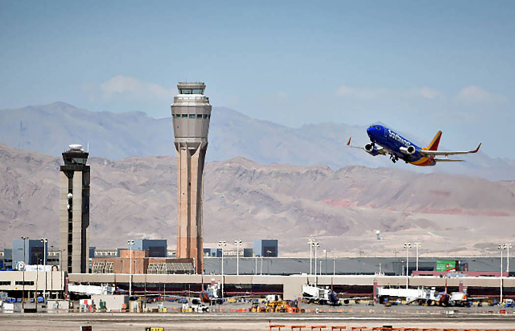 New satellite system may modify routes into Las Vegas airports