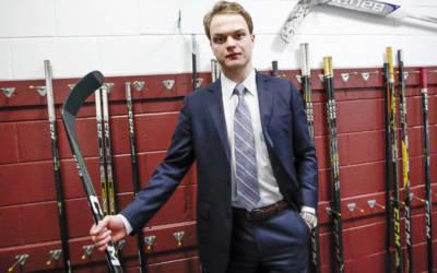 Golden Knights player Reid Duke learning a lot in AHL