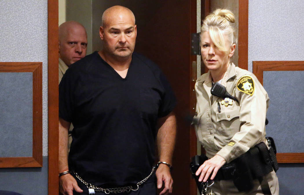 $25K bail set for Vegas fire captain accused of sex with girl