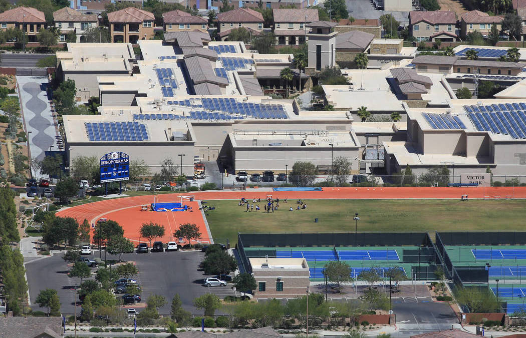 Bishop Gorman landlord blames family who built campus for bankruptcy