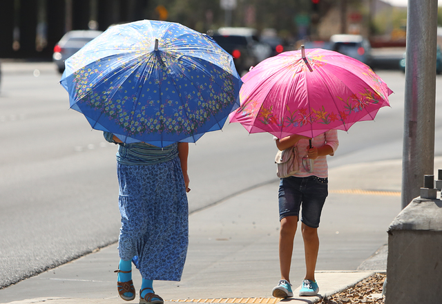 Warming trend coming to Las Vegas Valley