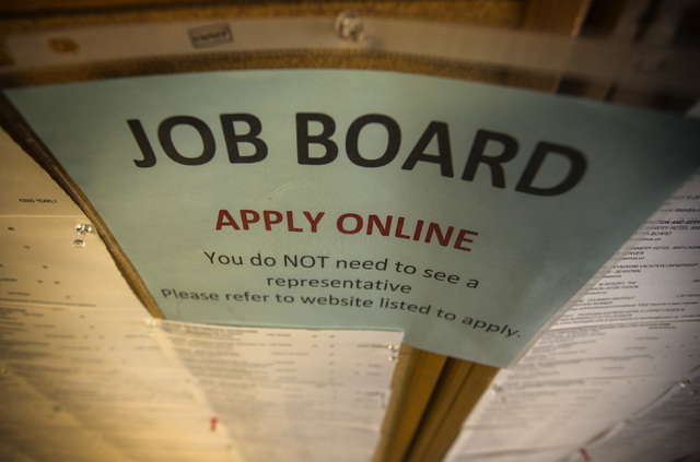 Nevada unemployment rate drops again in March