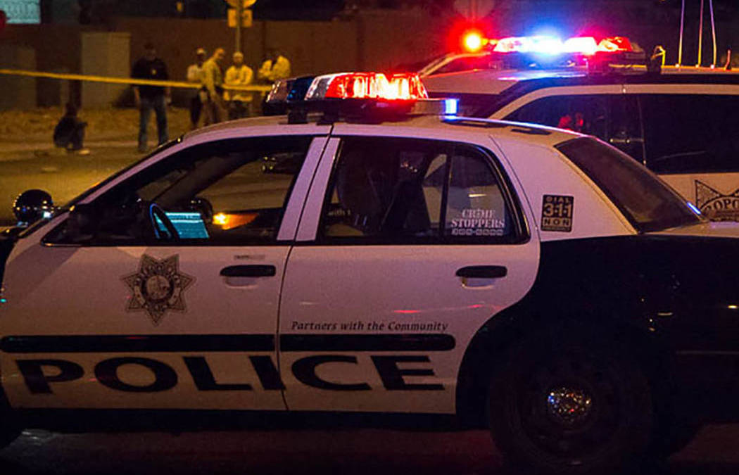 Wounded man found wandering in southwest Las Vegas Valley