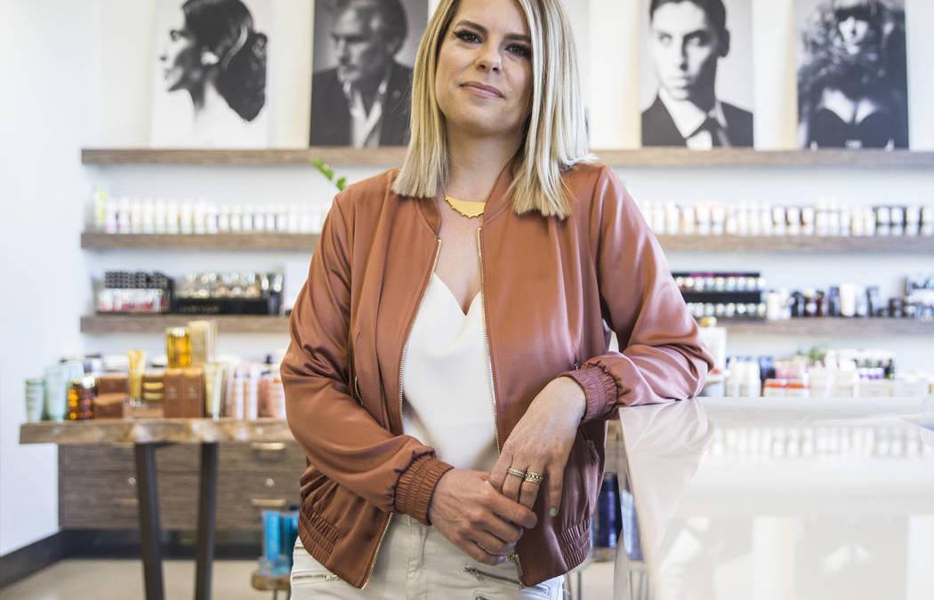 Hairstylist Shelley Gregory brings rainbow hair to Las Vegas