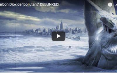 """Carbon Dioxide """"pollutant"""" DEBUNKED!"""